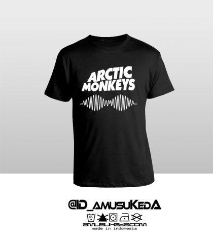 Arctic Monkeys Hitam