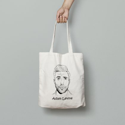 Canvas Tote Bag Adam Levine