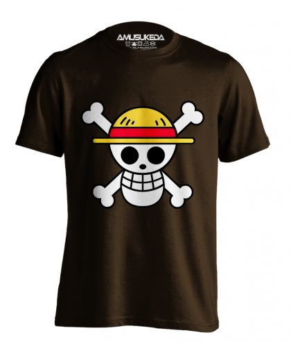 One Piece Flag Coklat