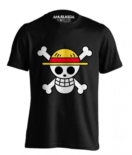 One Piece Flag Hitam