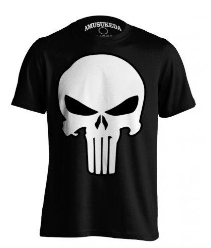 Punisher Skull Black T Shirt