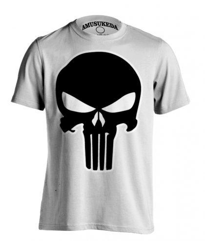 Punisher Skull Whitet Shirt